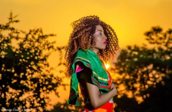 Zambian Model: Xarah Chibwe Going Higher