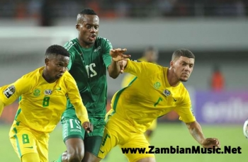 AFCON 2017: Zambia Beats South Africa's Amajita