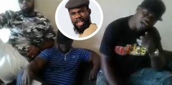 Watch Video: Un-Known Men Warn Singer Pilato, They Promise To Eat Him Alive