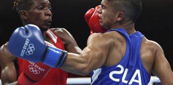 Zambia's Chinyemba Knocks Out Australia's Alex Windwood