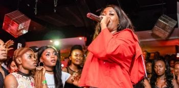 Zambian Artist, Steals Nigerian Artist Timaya's Show – See Photos