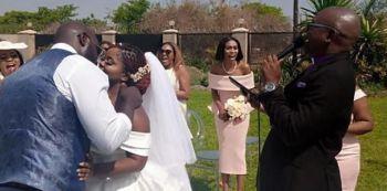 Photos: Zambian Singer Dambisa Weds Phiri