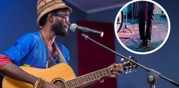Zambian Artist Mumba Yachi Reveals Why He Doesn't Wear Shoes