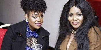 Mampi & Kay Figo Share Glass Of Beer - A Sign To End Their Beef
