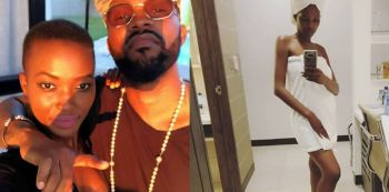 Video: Fally Ipupa Feels Zambian Model's Tiny Boobs