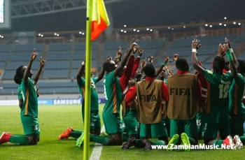 Zambia Kicks Out Germany At The FIFA Under-20 World Cup In South Korea