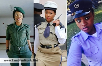 Photos Of The Most Beautiful Police Officers In The Zambia Police Service