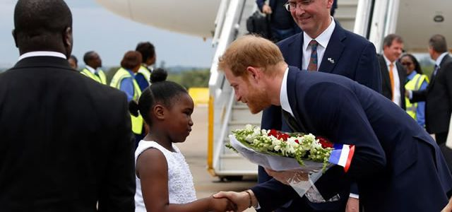 Here Are The 3 Reasons Why Prince Harry Came To Zambia