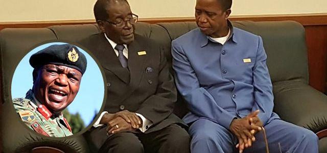 Listen To VoiceNote: Zimbabwe Army General Warns Zambia Over Mugabe