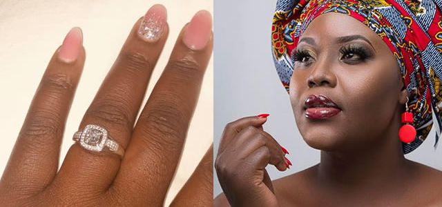 Singer Kantu Accepts Ring, Young Zambian Man Proposes To Her