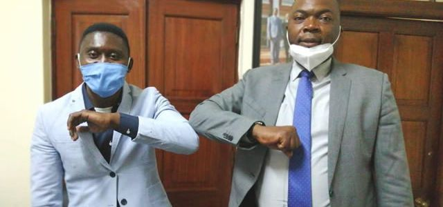 B Flow Reconciles With Lusaka Minister Bowman Lusambo