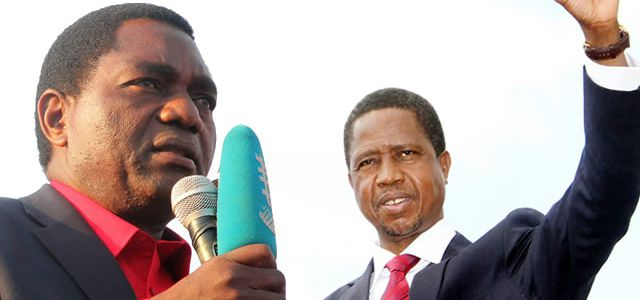 Independent Opinion Poll Puts HH Ahead Of Edgar Lungu