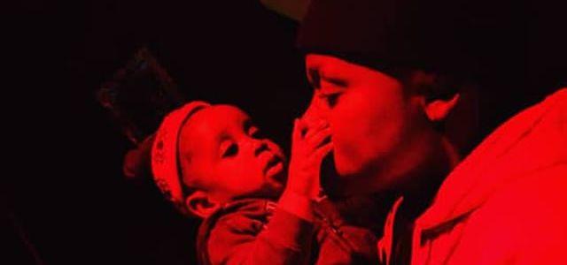 Photos: Zambian Artist Tsean Bonding With His Child In Studio